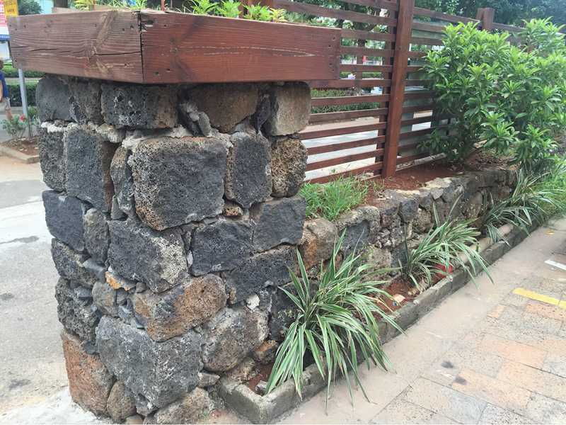 lava stone wall decoration