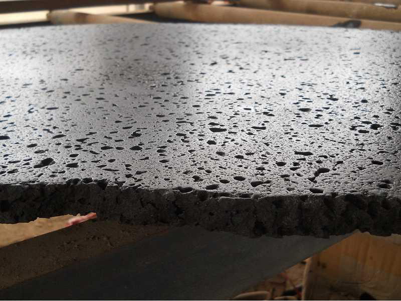 lava stone brushed